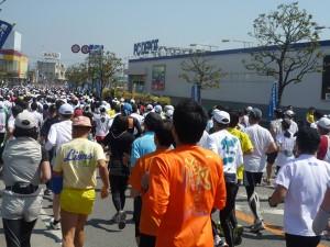 かすみがうらマラソン大集団